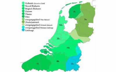 Dialectos en la regiones lingüísticas holandesas